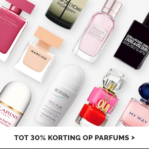 Zomergeuren - tot 30% korting op parfums